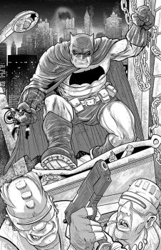 Frank Millers The Dark Knight Returns by MindCloud78