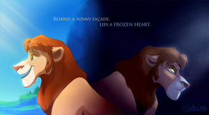Warm facade, Frozen heart by Mistrel-Fox