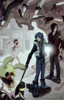 Dramatical Murder on Silent Hill by theheadlessgirl