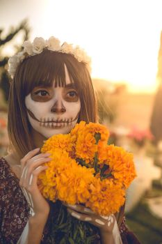 First day of the Dead by MaySakaali
