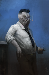 Winston:  The Gentleman Fish by NickDeSpain