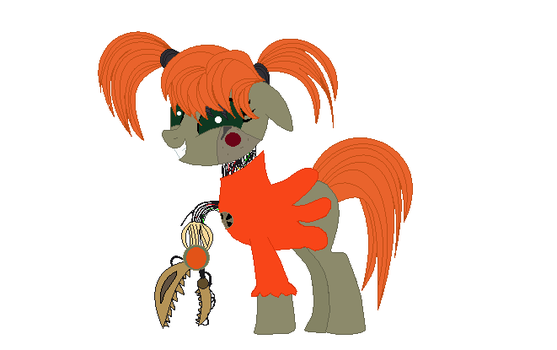 Circus baby ponified by RachelClaraArt