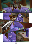 Comm: Amelia and the Timberwolf pg2 by MylittleSheepy