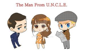 The Man from U.N.C.L.E. - CHIBIs by krings2