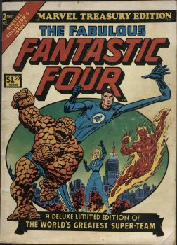 Marvel Treasury Edition 2 1974 Cover by Skytower