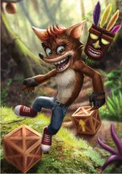Crash Bandicoot by Reffelia