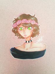 {AT} Rose by stingrayqueen