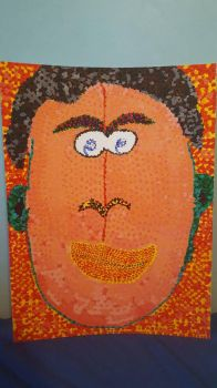 pointillism painting by Primerules23