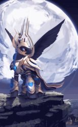 Ruhig-Artanis (animated) by TheShadowscale