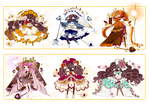 [CLOSED]ADOPT AUCTION 350-SelvaSpirits OctoberFood by Piffi-sisters