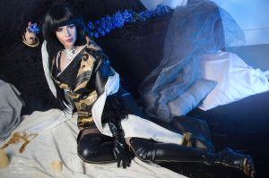 Gentiana cosplay by Nebulaluben