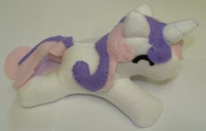 MLP FIM Sweetie Belle Plush by StormyNight79