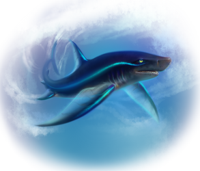 Great Winds Of Water-Graceful Predator by AuldBlue
