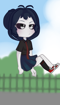 FNAFHS-Shadow Usagi (Bonbon ) by Melina123XD