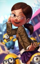 Margo and Minions by DFer32