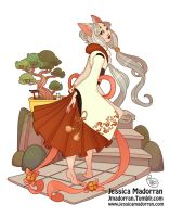 Character Design - Japan Inspired Character 19 by MeoMai