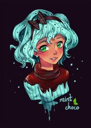 Day 01 - Mint Choco by Noxmoony