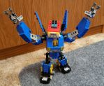Lego Megas XLR by ScottaHemi