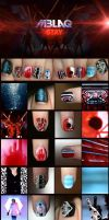 MBLAQ - Stay Inspired Nails by GetYourKrayon