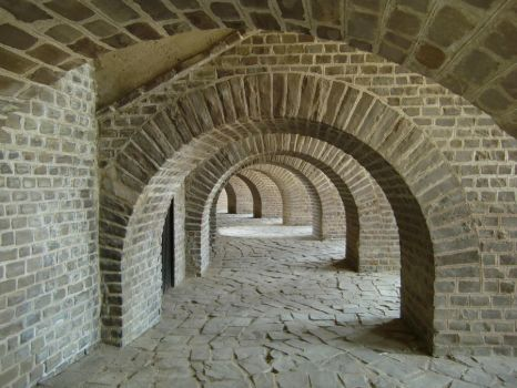 Brick Walkway 15307199 by StockProject1