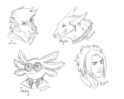 Sketch Batch 2 by KuElisa