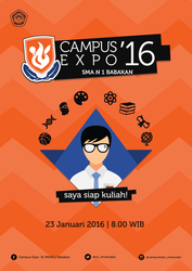 Campus Expo '16 Visual Identity, Poster by sevenorbs
