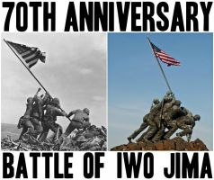 70th Anniversary Victory of Iwo Jima by Jax1776