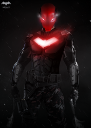 BATMAN - RED HOOD by iMizuri