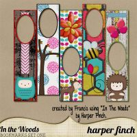 In the Woods Bookmarks by harperfinch