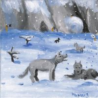 Wolves (old stuff) by Ayi82