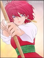 Crimson Bow and Arrow~ Akatsuki no Yona by La-cruciatus