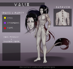 (closed) 24H AUCTION - VALIX #146 by CherrysDesigns