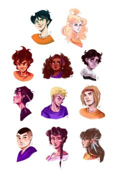 demigod children by papier-crane