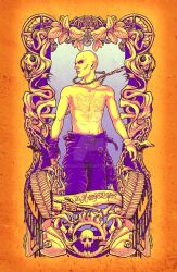 Mad Tarot - The Hanged Man by Sempaiko
