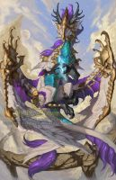 2015 Zodiac Dragons - Virgo by The-SixthLeafClover