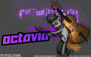 Fighting is Magic - Octavia *Commission by Galaxyart