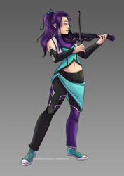 Comm: Mana Wysteria by speakforyourselves