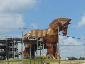 The Trojan Horse by Were-Owl