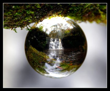 Tiny Worlds at Goitstock Waterfall (As Shot) by GaryTaffinder