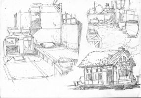 Old house by chengxiangarts