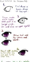Anime eye tutorial by Haizan93
