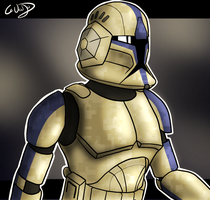 501st SpecOps trooper by SmacksArt