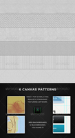Realistic Canvas Patterns by messinmotion