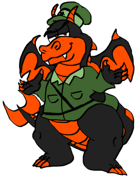 Comm: Giggadon Reporting for Duty! by Pizza-and-Fandoms
