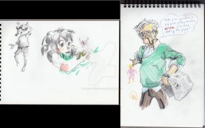 Buggirl 1st sketches by innerpeace1979