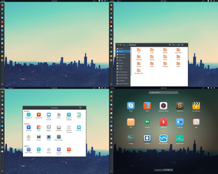 Gnome 3.14 on Arch Linux by Localizator