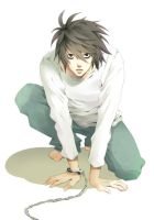 L from Death Note by Namido