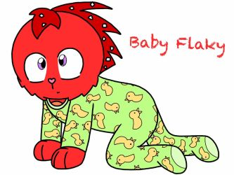 Baby Flaky (WARNING: Cuteness Overload!!!) by RaccoonTwin-3