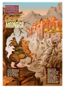 ESCAPE TO MADNESS color 03 by benitogallego