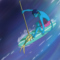 Demon Of The Waves by The-Dork-Side